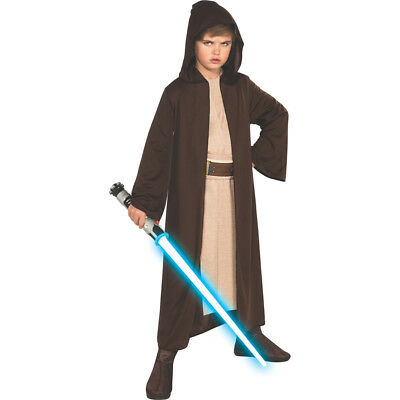 Jedi Knight Robe Star Wars Child Halloween - Jedi Kid Costume