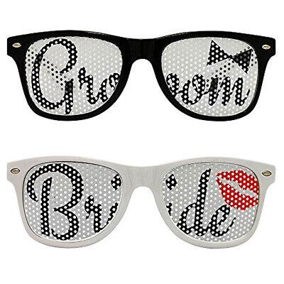 Wedding Bride and Groom glasses Set Gift Sunglasses pair New (Wedding Favors Glasses)