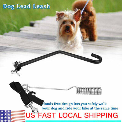 Distance Keeper (Portable Bicycle Dog Lead Leash Pet Dog Bike Lead Distance Keeper Hands)