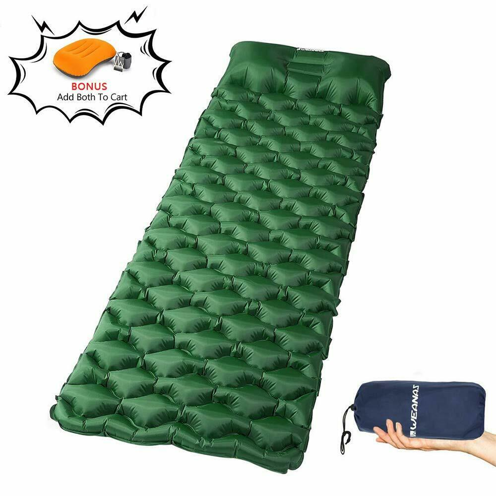 Ultralight Air Mattress Camping Sleeping Pad Waterproof Inflatable Camping Mat