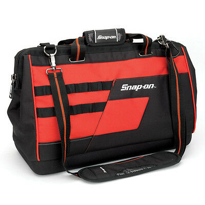 "Snap-on® 20"" Heavy Duty Wide Mouth Tool Storage Organizer Tote Bag Case - 870110"