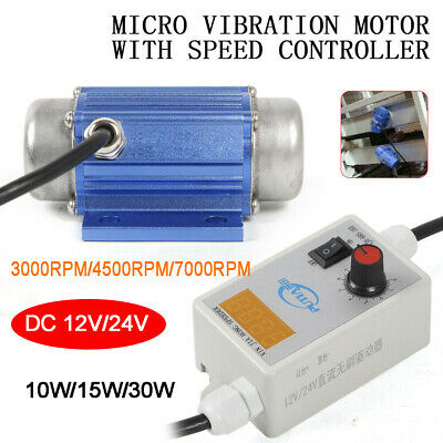 10w-30w Dc Brushless Mini Vibration Motor And Speed Controller For Table Shaker