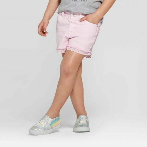 Toddler Girl Denim Shorts Pink Cat & Jack 12M