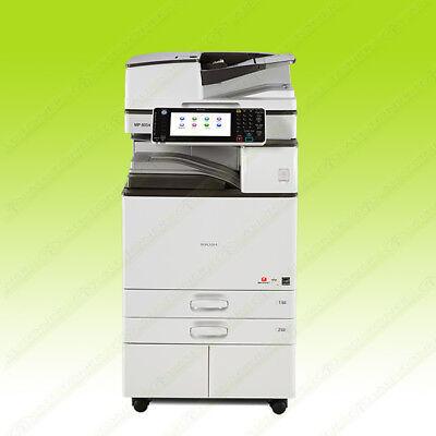 Ricoh Aficio Mp 5054 Laser Mono Bw Printer Copier Scan Duplex 50ppm A3 Mfp 6054