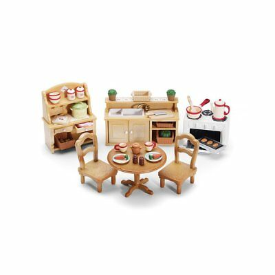 Calico Critters Deluxe Kitchen Set - Includes Over 40 Accessories