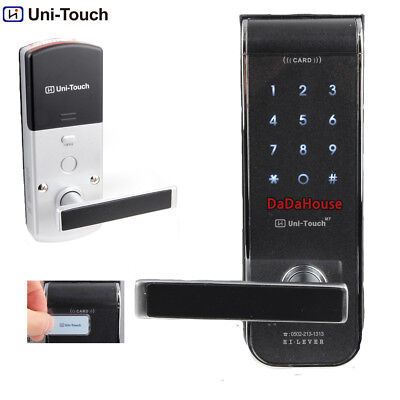 HiLever UniTouch M7 Digital Door Lock keyless black 2way