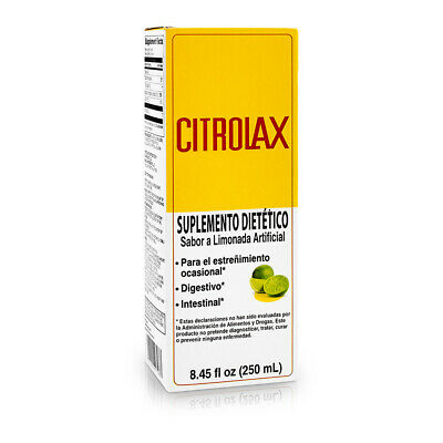 CITROLAX DIETARY SUPPLEMENT / SUPLEMENTO DIETETICO