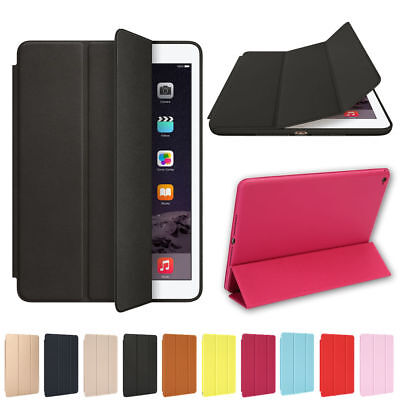 For Apple iPad 6th Generation 9.7 Slim Magnetic Silicone Sma