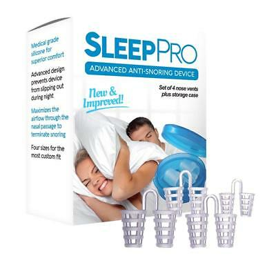 SleepPro™ Anti Snore Nose Vents Sleep Aid Device – Stop Snoring Naturally and In