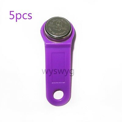 5x DS1990A-F5+ DS1990A+F5 FD2 TM iButton tag Touch memory tag For Access control