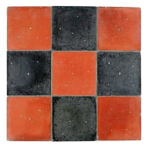 Quarry Tiles EBay - 6x6 black floor tile