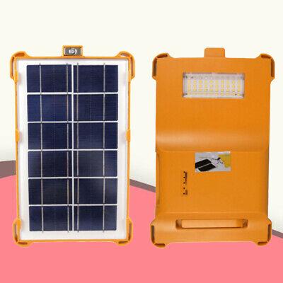 1 unidad de luz solar de 5 W con carga de luz...