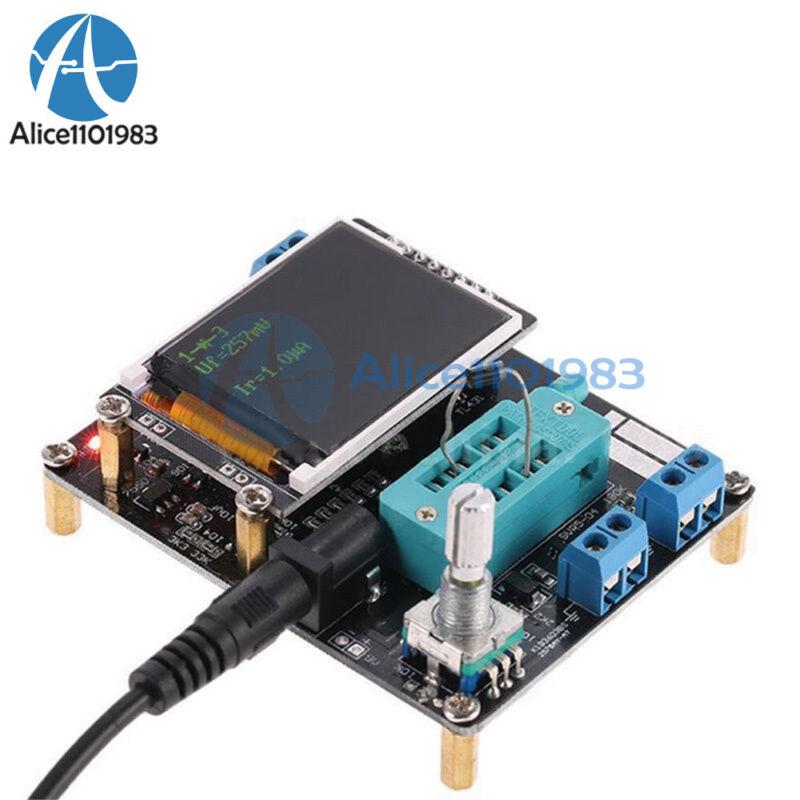 GM328 DC 7-12V Assembled Transistor Tester LCR ESR Meter with LCD Display