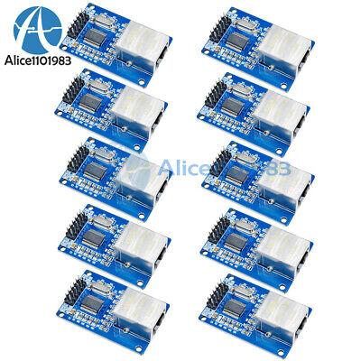 10pcs Enc28j60 Ethernet Lan Network Module 1pc For Arduino Spi Avr Pic Lpc Stm32