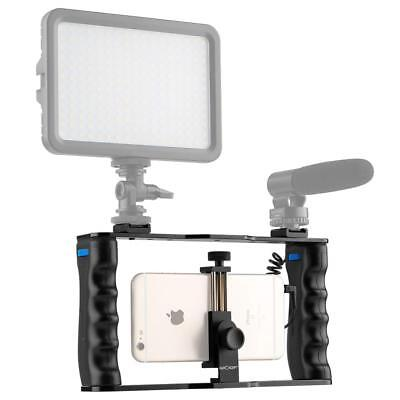 K&F Concept Video Camera Cage Stabilizer Film Making Rig fr iPhone Samsung Phone