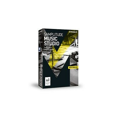 Magix Samplitude Music Studio Software  Download