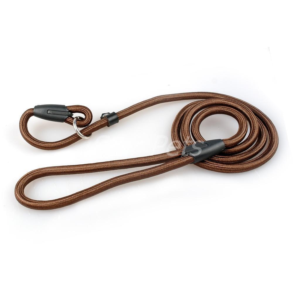 Nylon Hundeleine und Halsband in Einem, Leine mit Halsbänder Soft Nylon Seil, Ex