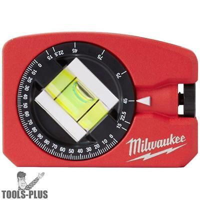 Milwaukee 48-22-5102 360 Rotating Magnetic Pocket Level Die-cast New