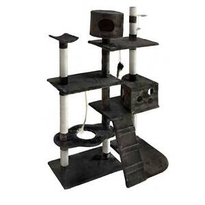 NEW Cat Scratching Poles Post Furniture Tree 170cm Grey North Melbourne Melbourne City Preview