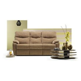 G-Plan 'Chloe' 3-seater beige/oatmeal sofa - immaculate/as new. Unable to fit into the new house!