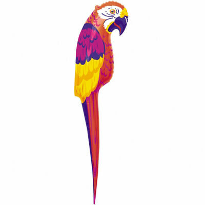 INFLATABLE PARROT LARGE  110CM BEACH HAWAIIN PARTY PIRATE PARTY FANCY DRESS - Inflatable Parrot