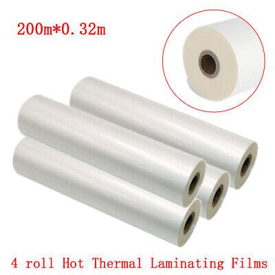 Thermal Laminating Film Satinmattefalt Uv Hot 12.5x656 0.32x200m New