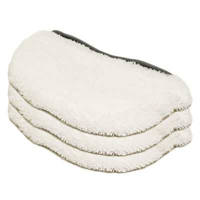 3 Steam Mop Pads fits Bissell PowerFresh Pad 1940 203-2633 19402 19404 19408