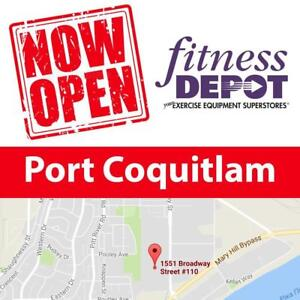 Now Open Fitness Depot Port Coquitlam