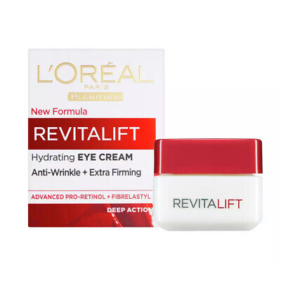 L'Oreal Paris Revitalift Hydrating Eye Cream Anti-Wrinkle Extra Firming 15ml