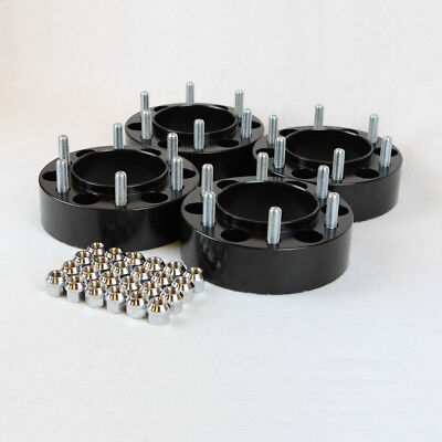 4 Chevy GMC Hubcentric Wheel Spacers Adapters fits 6x5.5 Chevy/GMC trucks 2 inch