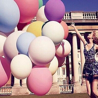 Lots Big Round Latex Balloon Wedding Decor Baloons Party Decor Giant Balloon