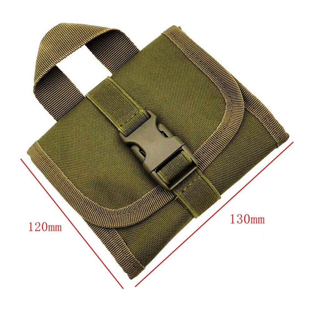 Outdoor Tactical Military Molle Belt Utility First Aid Pouch Medical Nylon Bag