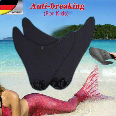 Kinder Mädchen Meerjungfrau Tail Mermaid Schwanzflosse Monofin Schwimmen - Meerjungfrauen Schwanz
