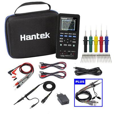 2probe 2in1 Hantek 2c42 Handheld 40mhz Oscilloscope Multimeter Teste 250msas