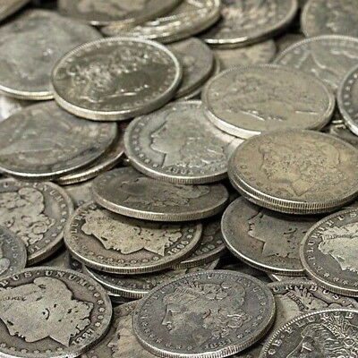 (1) MORGAN OR PEACE SILVER DOLLAR CULL COIN! INVESTMENT SILVER COINS! VARIETY!