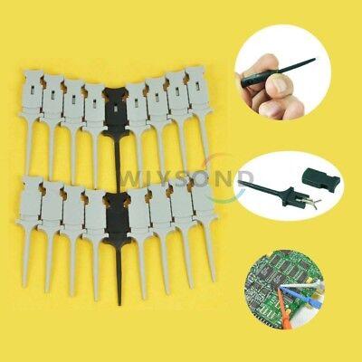 Hantek Ht321 18 Pcs Mini Grabber Smd Ic Test Hook Clip Jumper Probe For Test