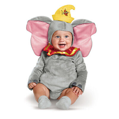 Infant Classic Disney Dumbo Elephant Costume size 12-18 - Dumbo Kostüm