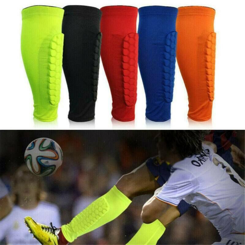 soccer protective socks with pocket football shin