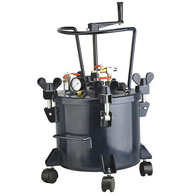 California Air Tools 14-inch 60-psi 5-gallon Portable Pressure Pot Paint Tank