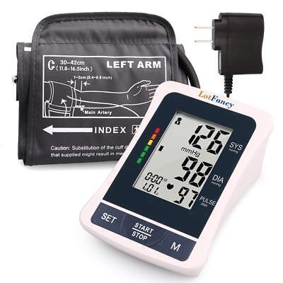 Upper Arm High Blood Pressure Monitor BP Large Cuff Machine Gauge Tester Meter