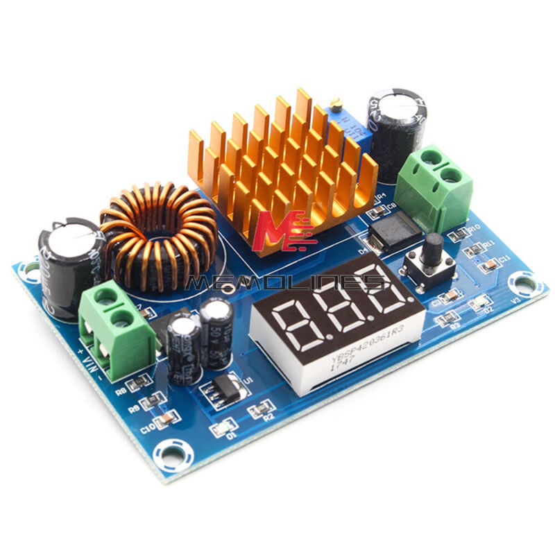 Dc-dc Boost Converter 3-35v To 5-45v Step Up Power Module W/ Led Display Xh-m411