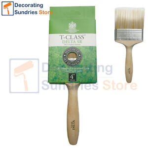 Harris T Class Delta Paint Brushes *All Sizes* Synthetic Harris Paint Brushes SR