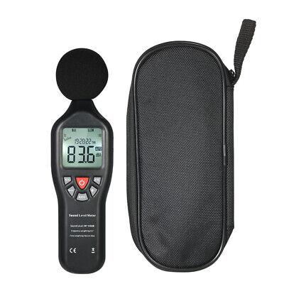 30-130db Lcd Digital Sound Level Meter Noise Decibel Tester Max. Data Hold J1j8