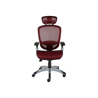 Myofficeinnovations Technical Mesh Task Chair Red 2257054