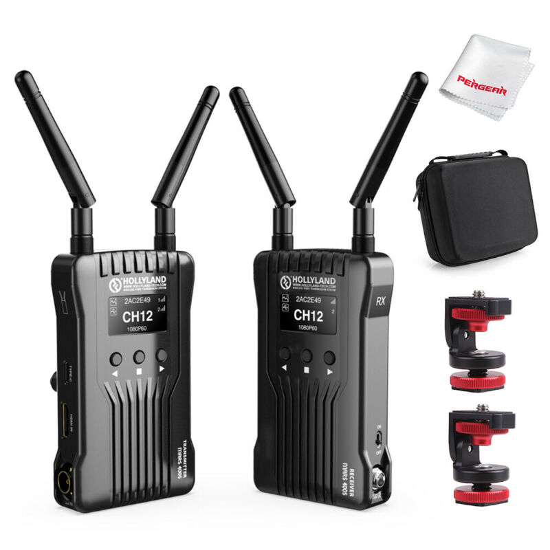 US Hollyland Mars 400S Wireless SDI HDMI Video Transmission System iOS Android