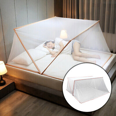 Mosquito Net Automatic Portable Canopy Insect Folding Bed Netting Camping Tent