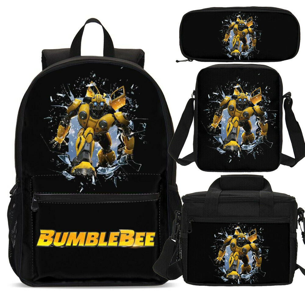 Beyblade Students Backpack Insulation Lunchbox Crossbody Bags Pen Case Kids Lot