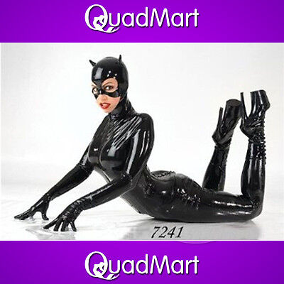 Halloween Black Long Sleeve Costumes Women Party Catsuits Bodysuit Cosplay Dress - Halloween Black Bodysuits