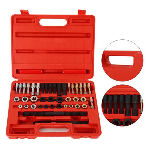 40pcs Tap +Die +Threading Tool Thread Repair Kit Bolts Nuts Rapid Repairing USA