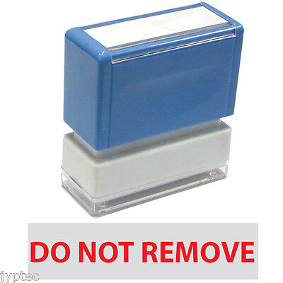 Do Not Remove - Jyp Pa1040 Pre-inked Rubber Stamp Red Ink